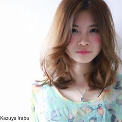 外国人風 ブラウン パーマ コンサバ ヘアスタイルや髪型の写真・画像
