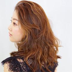 外国人風 ハイライト グラデーションカラー コンサバ ヘアスタイルや髪型の写真・画像