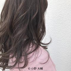 秋 ミディアム 外国人風カラー アッシュ ヘアスタイルや髪型の写真・画像
