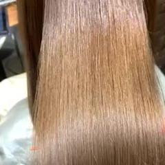 サイエンスアクア 最新トリートメント 縮毛矯正 ロング ヘアスタイルや髪型の写真・画像