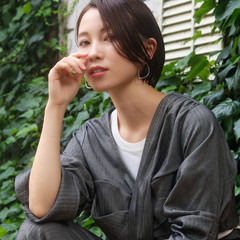ハンサムショート モード 小顔ショート ショートヘア ヘアスタイルや髪型の写真・画像
