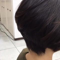 ナチュラル 色気 ボブ ショートボブ ヘアスタイルや髪型の写真・画像