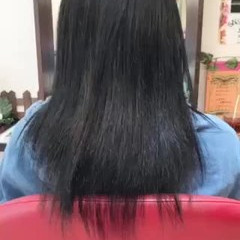 韓国ヘア エクステ ストリート ハイトーン ヘアスタイルや髪型の写真・画像