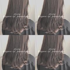 渋谷系 ミディアム オルチャン 大人かわいい ヘアスタイルや髪型の写真・画像