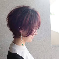 マッシュショート ショート ベリーショート フェミニン ヘアスタイルや髪型の写真・画像