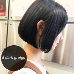 モテボブ ミニボブ ボブ 黒髪 ヘアスタイルや髪型の写真・画像
