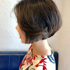 ショート アンニュイ ナチュラル くせ毛風 ヘアスタイルや髪型の写真・画像