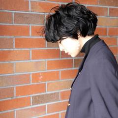 モード リラックス かっこいい 黒髪 ヘアスタイルや髪型の写真・画像
