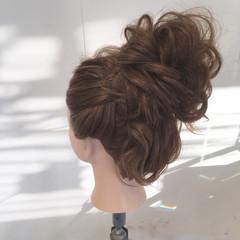 ヘアアレンジ ロング ナチュラル パーティ ヘアスタイルや髪型の写真・画像
