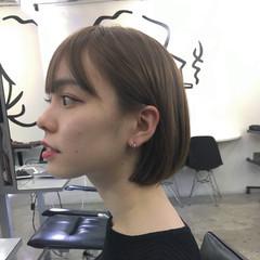 ベージュ デート シアーベージュ モード ヘアスタイルや髪型の写真・画像
