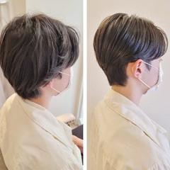 メンズショート ナチュラル メンズヘア ハンサムショート ヘアスタイルや髪型の写真・画像