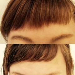 ゆるふわ 愛され 丸顔 パーマ ヘアスタイルや髪型の写真・画像
