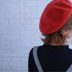 色気 くるりんぱ ボブ 大人女子 ヘアスタイルや髪型の写真・画像