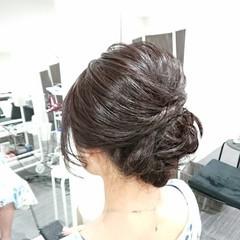 和装 上品 ロング アップスタイル ヘアスタイルや髪型の写真・画像