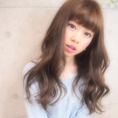 ヘアアレンジ ゆるふわ ピュア 夏 ヘアスタイルや髪型の写真・画像