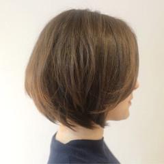 ボブ 色気 小顔 ナチュラル ヘアスタイルや髪型の写真・画像