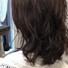 ゆるふわパーマ エアウェーブ ナチュラル パーマ ヘアスタイルや髪型の写真・画像