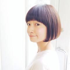丸顔 ガーリー ナチュラル ストリート ヘアスタイルや髪型の写真・画像