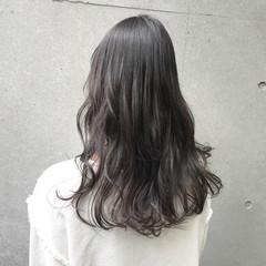 ブルージュ ナチュラル 暗髪 ロング ヘアスタイルや髪型の写真・画像