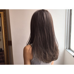 ブルージュ 外国人風 ロング 透明感 ヘアスタイルや髪型の写真・画像
