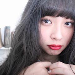 グラデーションカラー ロング 外国人風 こなれ感 ヘアスタイルや髪型の写真・画像