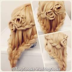 まとめ髪 コンサバ 編み込み ヘアアレンジ ヘアスタイルや髪型の写真・画像