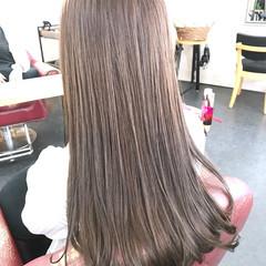 透明感カラー ロング 透明感 ナチュラル ヘアスタイルや髪型の写真・画像