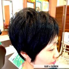 卵型 丸顔 ベース型 ストリート ヘアスタイルや髪型の写真・画像