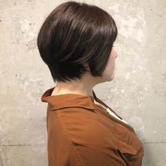 ショートボブ くせ毛 ショート ベリーショート ヘアスタイルや髪型の写真・画像