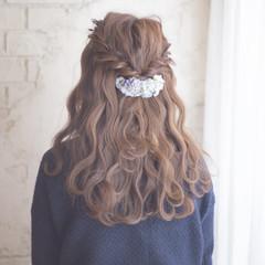セミロング 成人式 ヘアアレンジ ショート ヘアスタイルや髪型の写真・画像