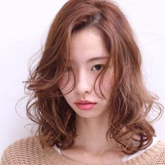 伸ばしかけ パーマ モード 色気 ヘアスタイルや髪型の写真・画像