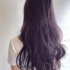 透明感 暖色 透明感カラー ロング ヘアスタイルや髪型の写真・画像