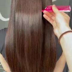 艶髪 髪質改善 髪質改善トリートメント ロング ヘアスタイルや髪型の写真・画像