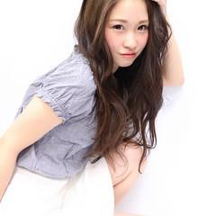 フェミニン コンサバ ロング かっこいい ヘアスタイルや髪型の写真・画像