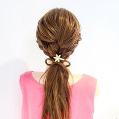 フェミニン ロング ヘアアレンジ 大人女子 ヘアスタイルや髪型の写真・画像