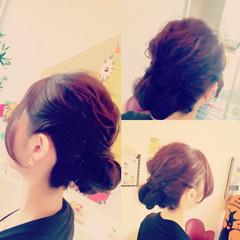 ヘアアレンジ 簡単ヘアアレンジ 大人女子 フェミニン ヘアスタイルや髪型の写真・画像
