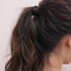 ミディアム ショート ヘアアレンジ ハーフアップ ヘアスタイルや髪型の写真・画像