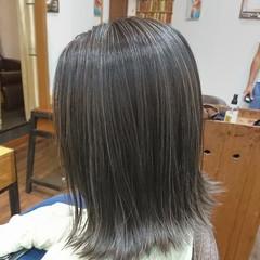 ナチュラルグラデーション グラデーションカラー ハイライト コントラストハイライト ヘアスタイルや髪型の写真・画像