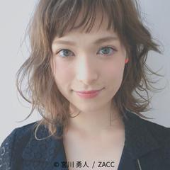ストリート 前髪あり ハイライト 外国人風 ヘアスタイルや髪型の写真・画像