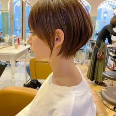 ショート ナチュラル ショートヘア 大人ショート ヘアスタイルや髪型の写真・画像