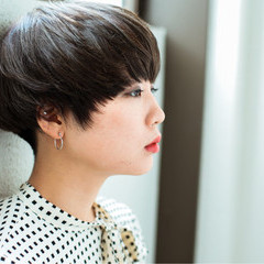 木村カエラ 外国人風 モード マッシュ ヘアスタイルや髪型の写真・画像