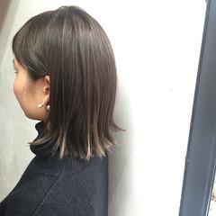 透明感 ストリート 外国人風 暗髪 ヘアスタイルや髪型の写真・画像