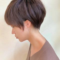 ショートヘア 前髪あり ショート ショートボブ ヘアスタイルや髪型の写真・画像