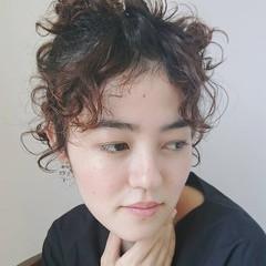 ショートヘア 結婚式ヘアアレンジ ショート ベリーショート ヘアスタイルや髪型の写真・画像