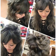ガーリー デート ルーズ 外国人風 ヘアスタイルや髪型の写真・画像