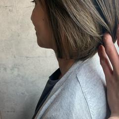 ショートヘア ボブ ショートボブ インナーカラー ヘアスタイルや髪型の写真・画像