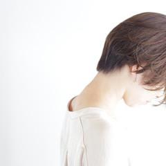 圧倒的透明感 ショートボブ ナチュラル ミニボブ ヘアスタイルや髪型の写真・画像