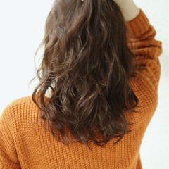 ミディアム 外国人風 パーマ 春 ヘアスタイルや髪型の写真・画像