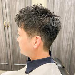 ショートヘア フェードカット ナチュラル ベリーショート ヘアスタイルや髪型の写真・画像