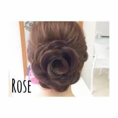 春 ヘアアレンジ ロング ヘアスタイルや髪型の写真・画像